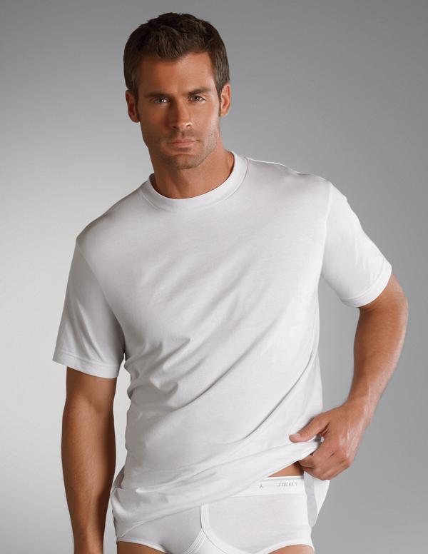 Jockey Classic Round Neck T Shirt Underwear From Jockey