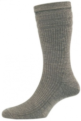 Mens Softop Extra Wide Wool Sock