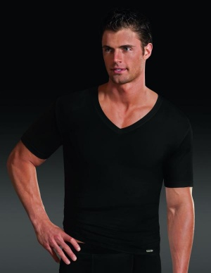 Jockey Microfiber V-Neck Shirt