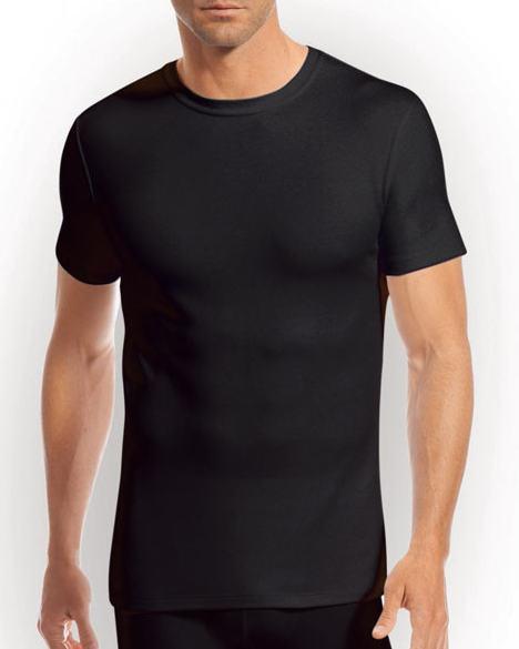 Jockey Modern Thermals Short Sleeved T-Shirt  Vest  Size Xl Black