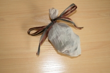 Tie Scented Pouch With Ribbon