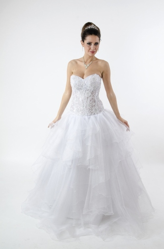 Aline, Princess, Ball Gown Style Wedding Dress